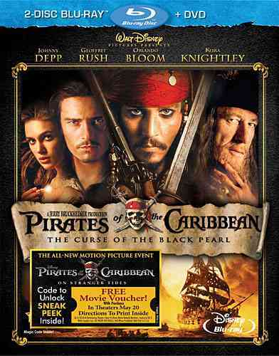 PIRATES OF THE CARIBBEAN:CURSE OF THE BY DEPP,JOHNNY (Blu-Ray)