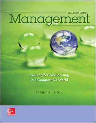 Management By Bateman, Thomas S./ Snell, Scott